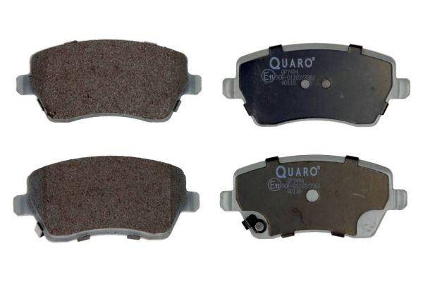 QP7494 QUARO exkl. Verschleißwarnkontakt Höhe: 51,9mm, Breite: 116,5mm, Dicke/Stärke: 17,3mm Bremsbelagsatz, Scheibenbremse QP7494 günstig kaufen