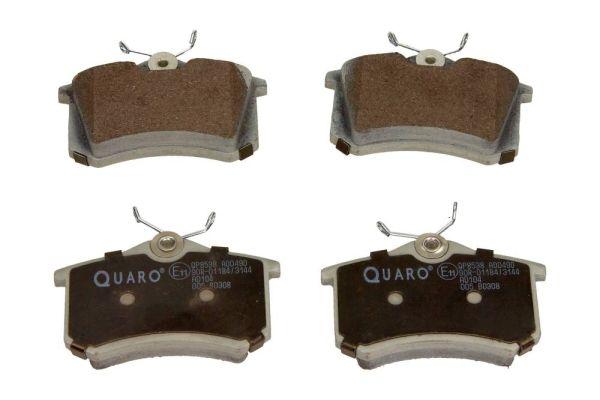 QP8538 QUARO nicht für Verschleißwarnanzeiger vorbereitet Höhe: 53mm, Breite: 87mm, Dicke/Stärke: 16,2mm Bremsbelagsatz, Scheibenbremse QP8538 günstig kaufen