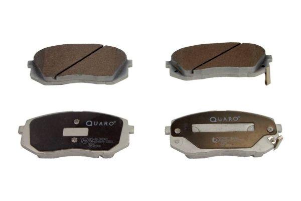 QP9180 QUARO mit akustischer Verschleißwarnung Höhe: 60,9mm, Breite: 137,9mm, Dicke/Stärke: 17,5mm Bremsbelagsatz, Scheibenbremse QP9180 günstig kaufen
