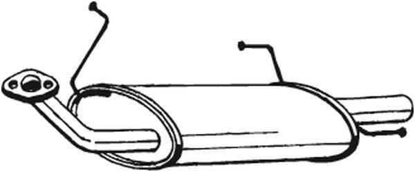Original Výfukový systém 145-239 Nissan