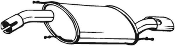 Endschalldämpfer BOSAL 154-079