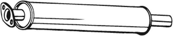 BOSAL: Original Vorschalldämpfer 154-399 ()