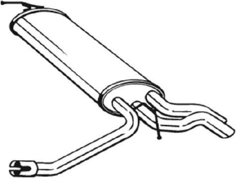 Endschalldämpfer BOSAL 175-087