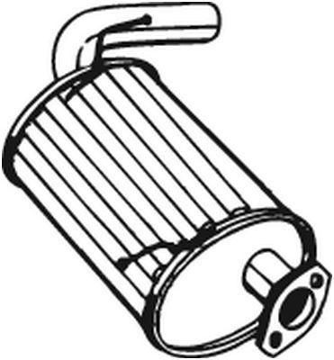 BOSAL: Original Nachschalldämpfer 219-165 ()