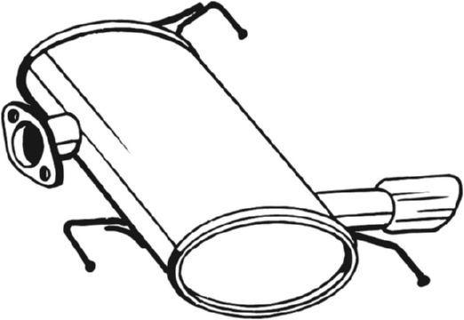 BOSAL: Original Endschalldämpfer 247-009 ()