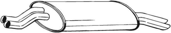 BOSAL: Original Endschalldämpfer 247-981 ()