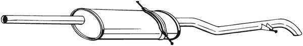 BOSAL: Original Nachschalldämpfer 282-061 ()