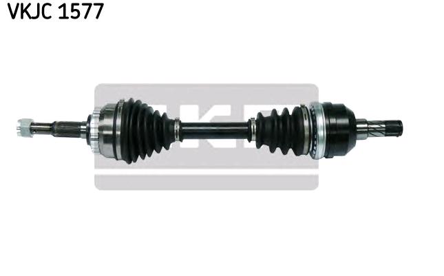 OPEL CALIBRA 1995 Antriebswellen - Original SKF VKJC 1577 Länge: 593mm, Außenverz.Radseite: 33, Zähnez. ABS-Ring: 29