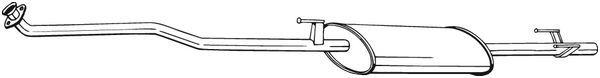 Vorschalldämpfer BOSAL 294-217