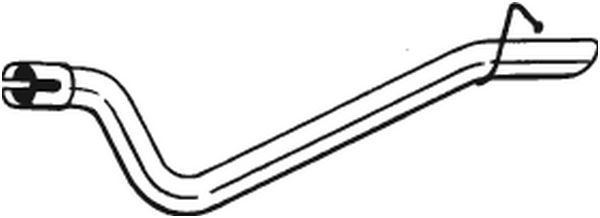 Auspuffrohr BOSAL 750-429