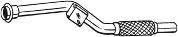 Bosal 800-065 Abgasrohr