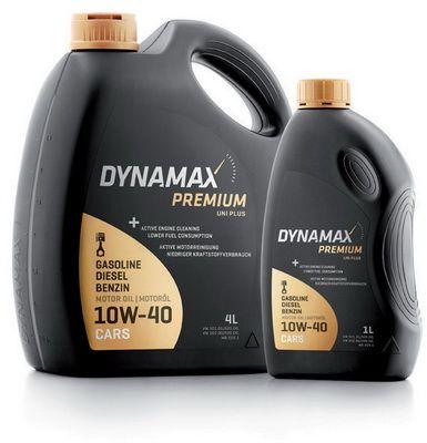 DYNAMAX Premium, Uni Plus Motorolja 10W-40, 10W-40, 1l, Delsyntetolja 501892 HARLEY-DAVIDSON