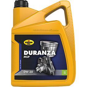 32383 KROON OIL DURANZA, MSP 0W-30, 5l, Synthetiköl Motoröl 32383 günstig kaufen