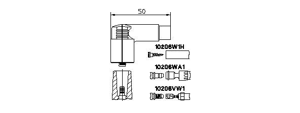BREMI: Original Zündverteiler und Einzelteile 10206VW1 ()
