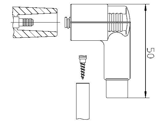 Original SUBARU Zündverteiler und Einzelteile 10206W1H