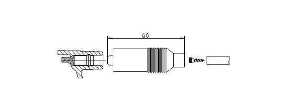 BREMI: Original Zündkerzenstecker 10223/1 ()
