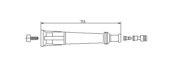 BREMI: Original Zündkerzenstecker 13213/5 ()