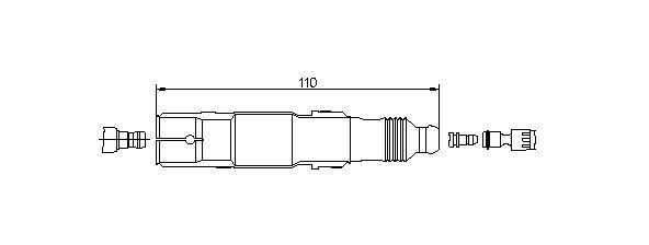 BREMI: Original Zündkerzenstecker 13272A5 ()