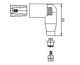 Achetez Fiche bougie d'allumage BREMI 13552A1 () à un rapport qualité-prix exceptionnel