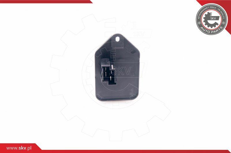ESEN SKV: Original Heizungswiderstand 94SKV048 (Spannung: 12V, Pol-Anzahl: 4-polig)