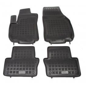 200507 REZAW PLAST Maßgefertigt Gummi, vorne und hinten, Menge: 4, schwarz Autofußmatten 200507 günstig kaufen