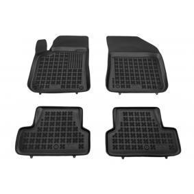 201311 REZAW PLAST Maßgefertigt Gummi, vorne und hinten, Menge: 4, schwarz Autofußmatten 201311 günstig kaufen