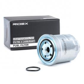 9F0168 RIDEX Anschraubfilter Höhe: 117,5mm Kraftstofffilter 9F0168 günstig kaufen