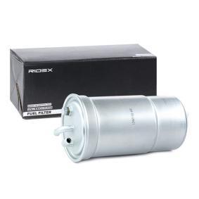 9F0196 RIDEX Leitungsfilter Höhe: 190mm Kraftstofffilter 9F0196 günstig kaufen