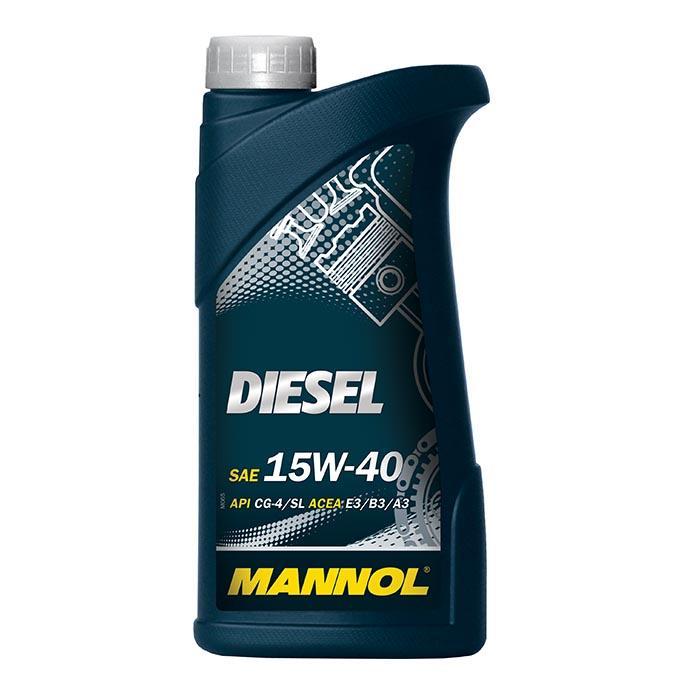 15W40 MANNOL DIESEL 15W-40, 1l, Mineralöl Motoröl MN7402-1 günstig kaufen
