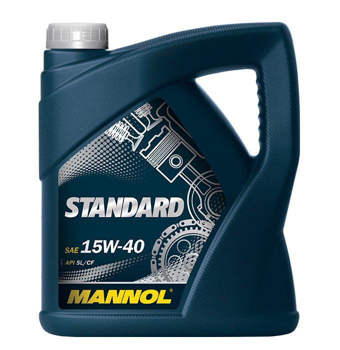 15W40 MANNOL STANDARD 15W-40, 4l, Mineralöl Motoröl MN7403-4 günstig kaufen