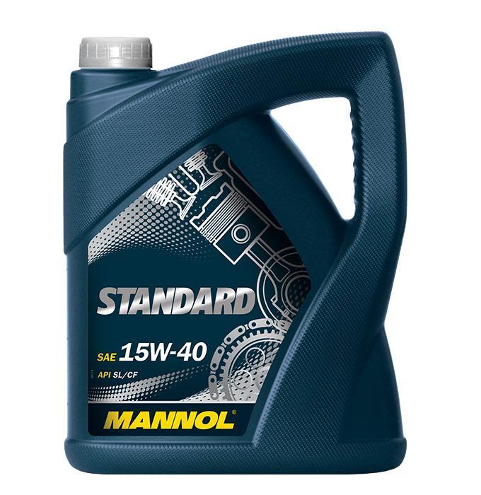 15W40 MANNOL STANDARD 15W-40, 5l, Mineralöl Motoröl MN7403-5 günstig kaufen