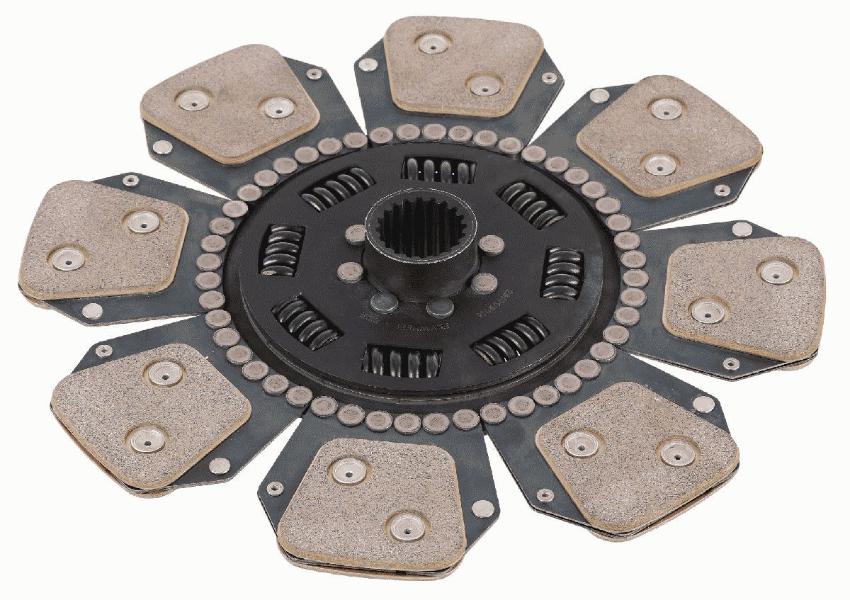 SACHS Clutch Disc for MERCEDES-BENZ - item number: 1878 634 090