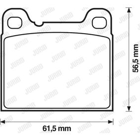 Sada brzdových platničiek kotúčovej brzdy 571417J OPEL OLYMPIA v zľave – kupujte hneď!