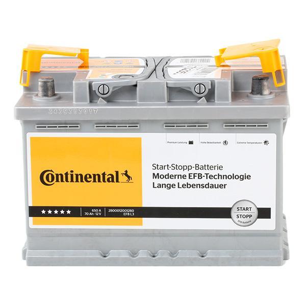 2800012001280 Autobatterie Continental 2800012001280 - Große Auswahl - stark reduziert