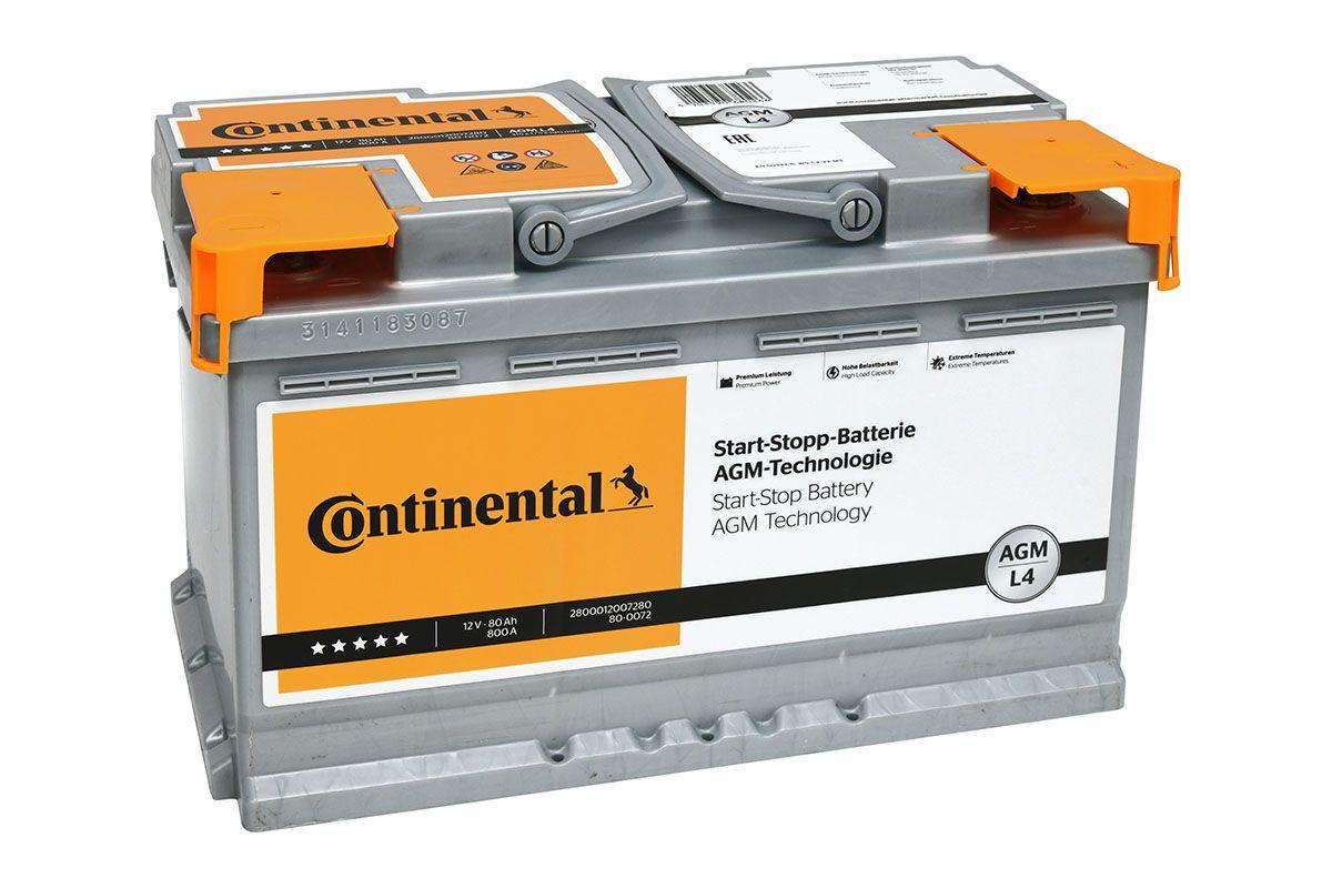 Continental Starterbatterie 2800012007280