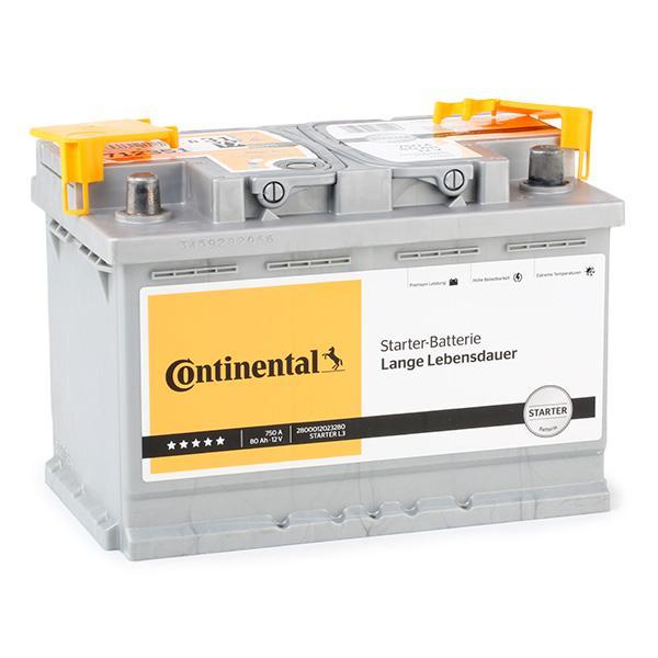2800012023280 Autobatterie Continental 2800012023280 - Große Auswahl - stark reduziert