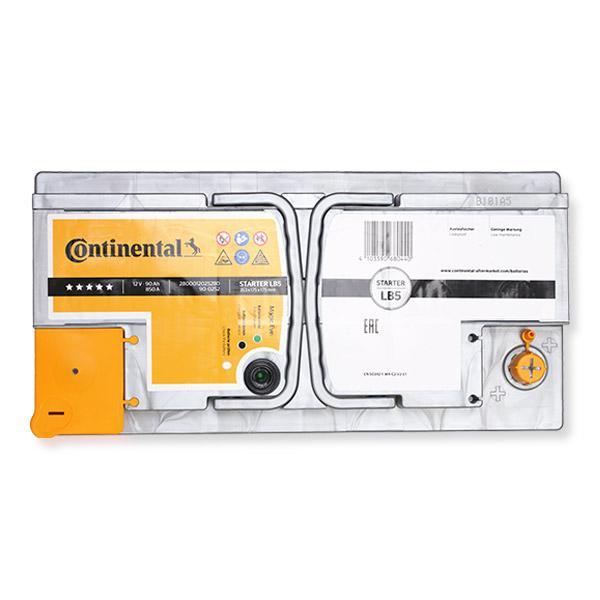 Starterbatterie Continental 2800012025280 Bewertungen