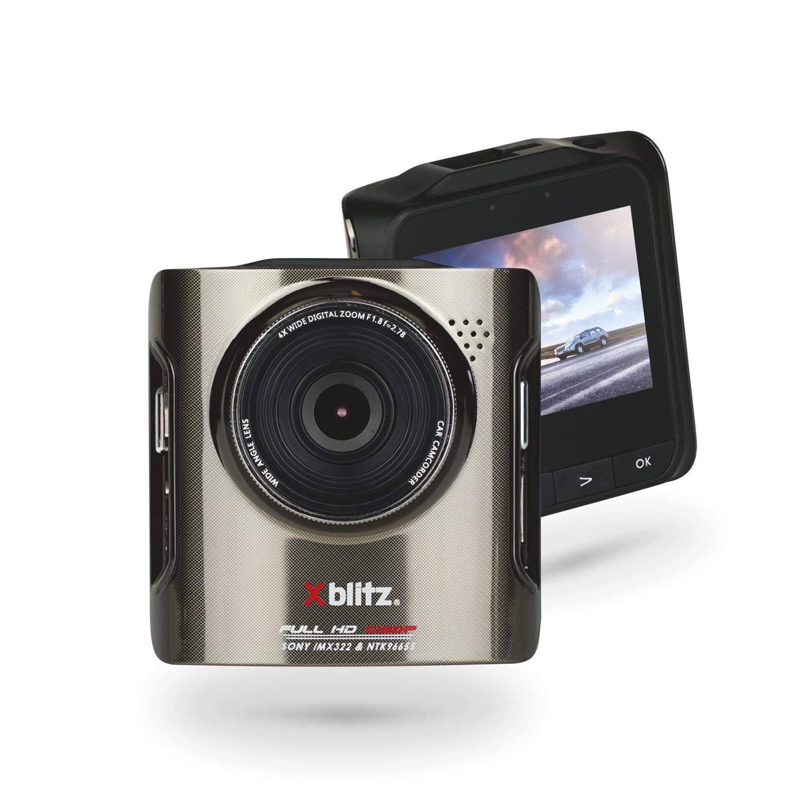 P100 XBLITZ Videoformat: MOV, Videoauflösung: 1920x1080, Bildschirmdiagonale: 2,7Zoll, microSD Blickwinkel: 170° Dashcam P100 günstig kaufen