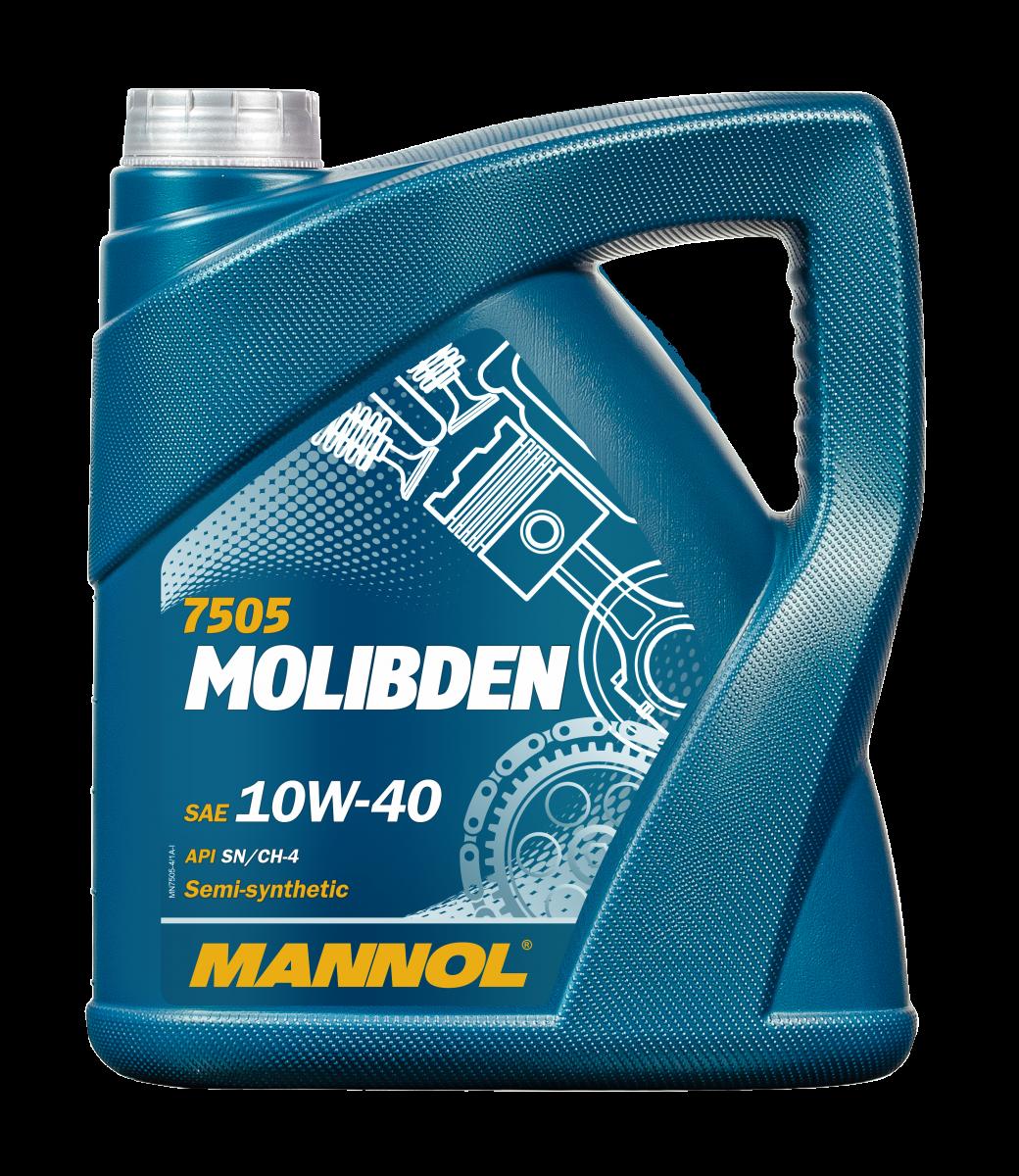 Achat de MN7505-4 MANNOL MOLIBDEN BENZIN 10W-40, 4I, Huile en partie synthétique Huile moteur MN7505-4 pas chères