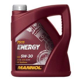 MN7511-4 MANNOL ENERGY 5W-30, 4l, Teilsynthetiköl Motoröl MN7511-4 günstig kaufen