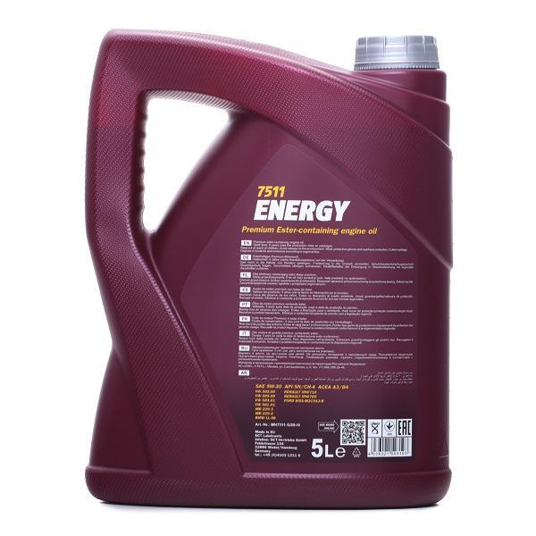 MN7511-5 Olio motore MANNOL prodotti di marca a buon mercato