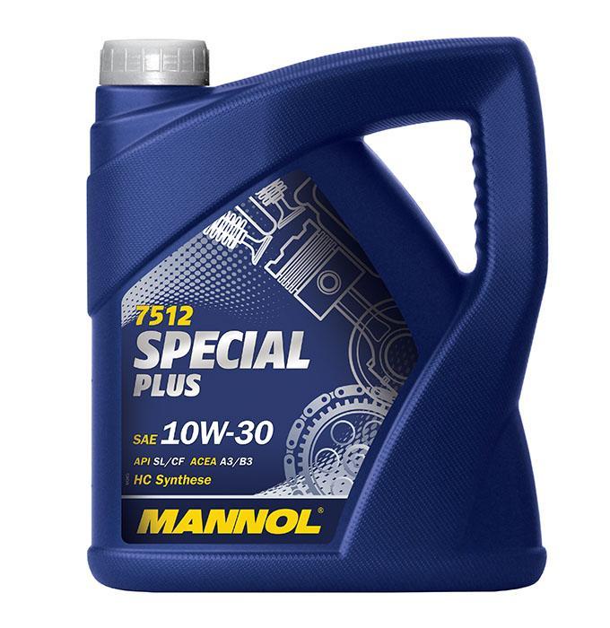 MN7512-4 MANNOL SPECIAL PLUS 10W-30, 4l, Teilsynthetiköl Motoröl MN7512-4 günstig kaufen