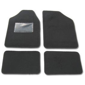Comprare 9900-1 POLGUM anteriore e posteriore, nero, Tessile, Quantità: 4 Dimensioni: 72.5x48.5, Dimensioni: 31x47.5 Tappetini abitacolo 9900-1 poco costoso