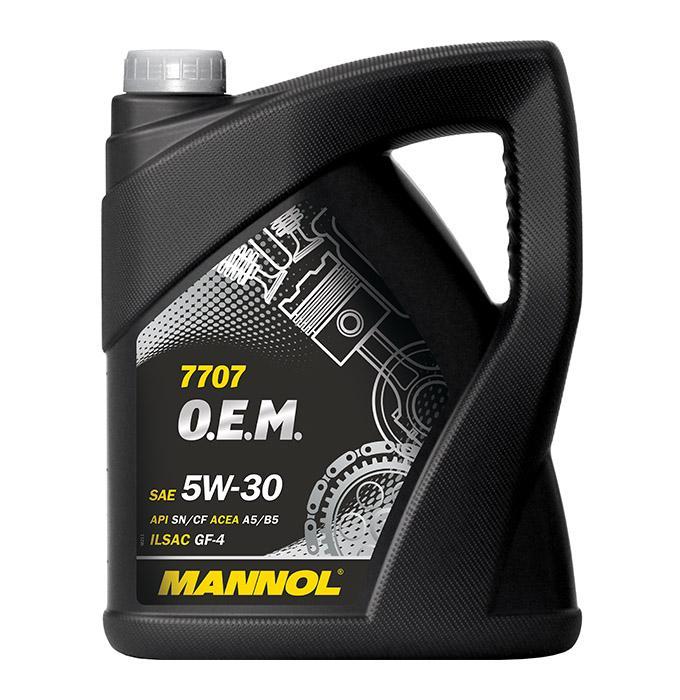 Motorenöl Ford Fiesta Mk6 Diesel und Benzin 2017 - MANNOL MN7707-5 ()