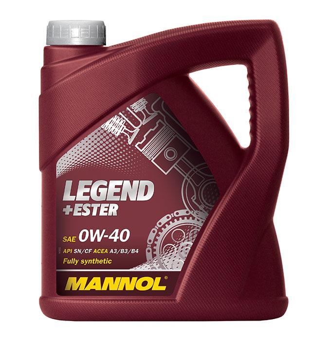 0W40 MANNOL LEGEND+ESTER 0W-40, 4l, Synthetiköl Motoröl MN7901-4 günstig kaufen