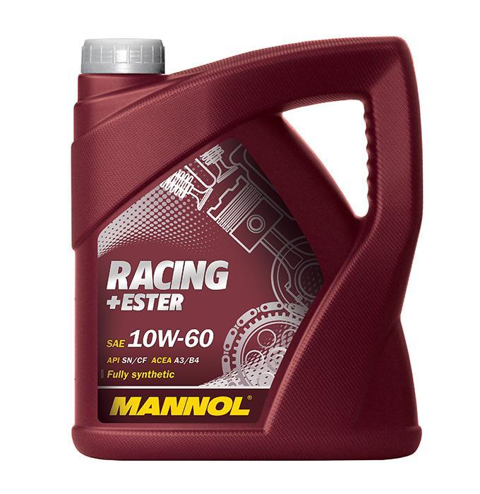 Achat de MN7902-4 MANNOL RACING+ESTER 10W-60, 4I, Huile synthétique Huile moteur MN7902-4 pas chères