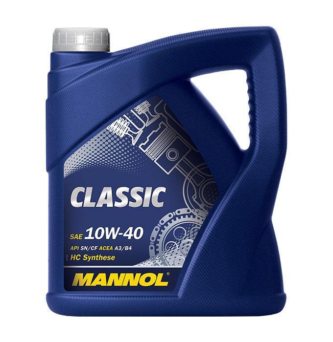 10W40 MANNOL CLASSIC 10W-40, 10W-40, 4l, Teilsynthetiköl Motoröl MN7501-4 günstig kaufen