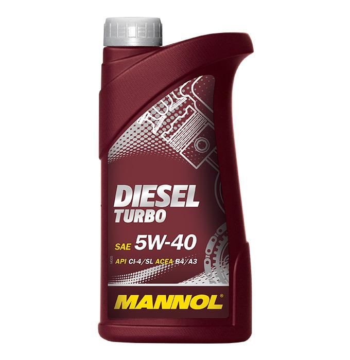 5W40 MANNOL DIESEL TURBO 5W-40, 1l, Synthetiköl Motoröl MN7904-1 günstig kaufen