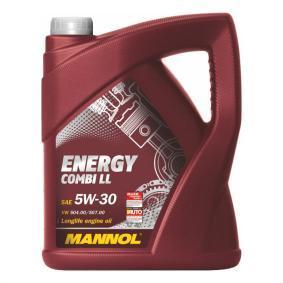 Pirkti 5W30 MANNOL ENERGY COMBI LL 5W-30, 5l Variklio alyva MN7907-5 nebrangu