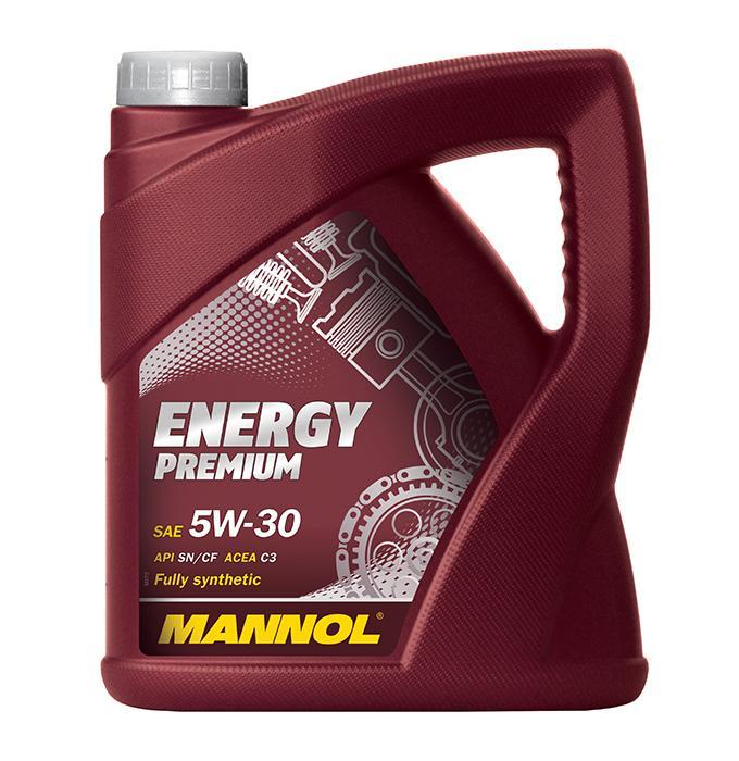 Køb MN7908-5 MANNOL ENERGY PREMIUM 5W-30, 5l, Syntetisk olie Motorolie MN7908-5 billige